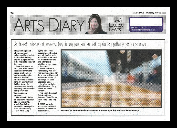 Arts Diary, The Daily Post